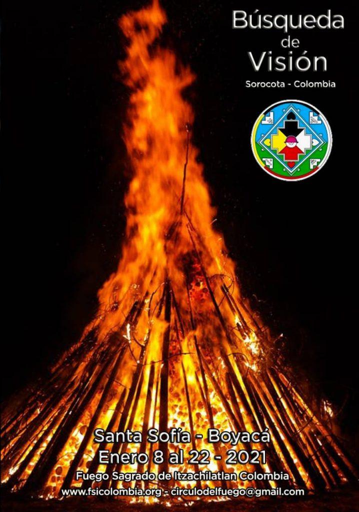 busqueda de vision fuego sagrado 2021 colombia